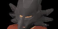 Iron dragon mask