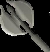 Dwarven battleaxe (sharp) detail