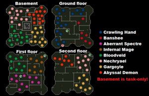 Slayer Tower map