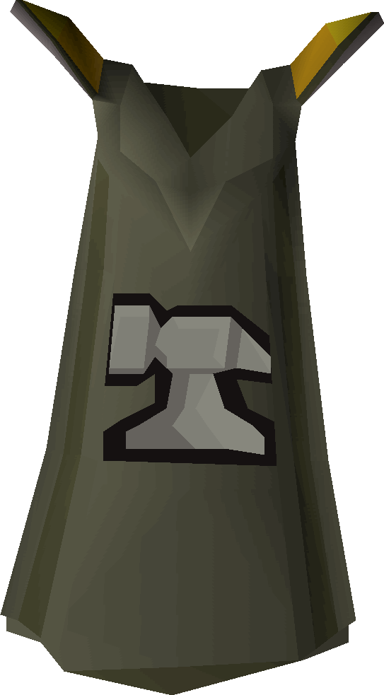 Smithing cape detail