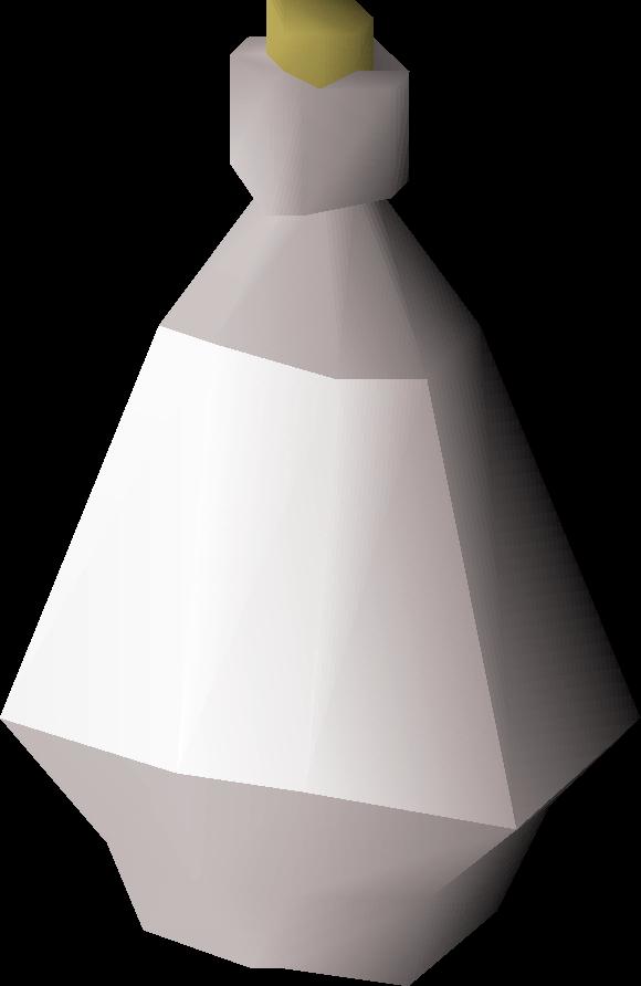 Silver bottle detail