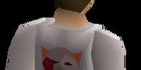 Bob's red shirt