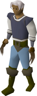Bronze claws equipped
