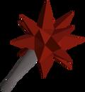 Dragon mace detail