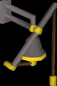 Posh bell-pull built