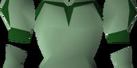 Green elegant blouse