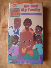 Little Bill Me And My Family VHS