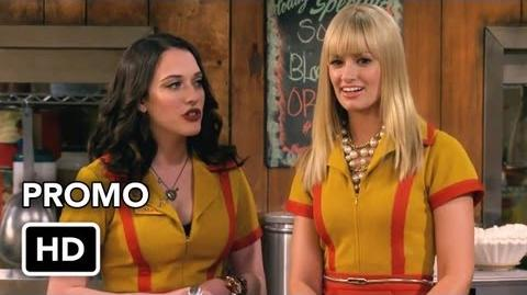 """2 Broke Girls 2x07 Promo """"And the Three Boys With Wood"""" (HD)"""