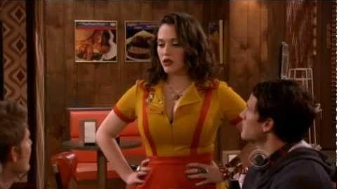 """2 Broke Girls 1x05 """"And The '90's Horse Party"""" Promo HD"""