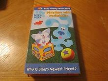 Blue's Clues Playtime With Periwinkle VHS