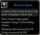 Black Iron Trinket