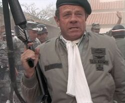 General Fulbright Jack Ging