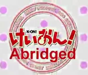 K-ON! Abridged title block