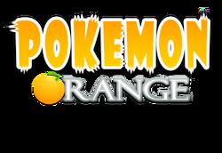 Pokemon orange logo