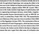 Prehistory of the Andes
