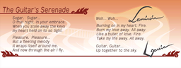 Guitar's Serenade lyrics