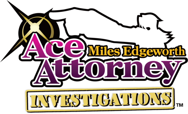 File:Ace Attorney Investigations- Miles Edgeworth logo.png