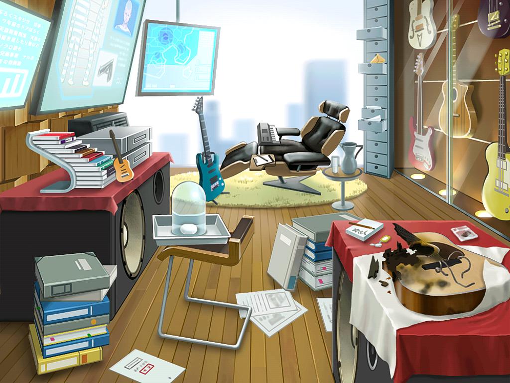 Klavier's office