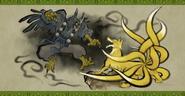 Yokai scroll