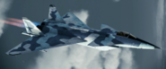 MiG-1.44 Event Skin 01 Flyby