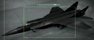 MiG-31 Foxhound Razgriz color Hangar