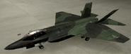 F-35C Knight color hangar