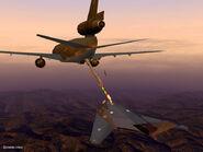 F-117A Refueling (Back)