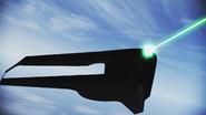 X-49 firing TLS 3