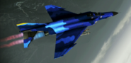 F-4E Normal Skin 01 Blue Flyby