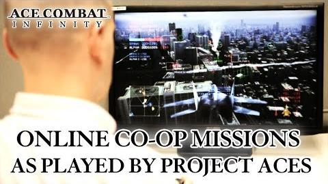 Ace Combat Infinity - Online Co-Op Missions Trailer (English)