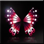 Butterfly Master Infinity Emblem