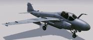 A-6E Intruder hangar