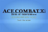 Skies of Incursion Tokyo Game Show '09 Start Screen