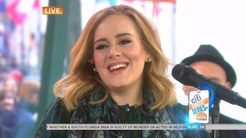 Adele - Million Years Ago - Today - November 25, 2015