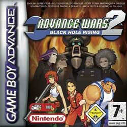 Advance wars 2 cover