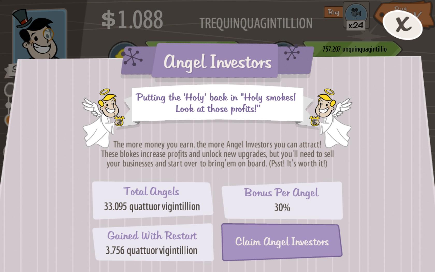 angel investors adventure capitalist wiki fandom powered by wikia