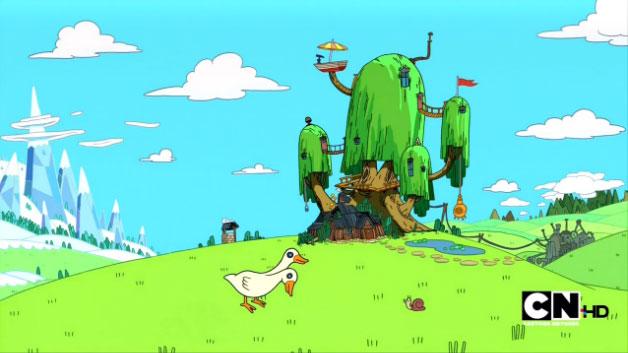 Все появления Улитки (Snail) Сезон 4 » Adventure Time