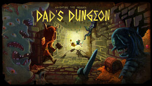 Dad's Dungeon Title Card