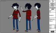 Marshall Lee Modelsheet