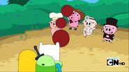 S2e13 baby pigs playing dodgeball