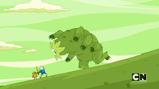 File:S05e45 Finn about to fight the monster.png