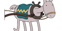 Wagon Horse