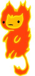 Flambo no bg