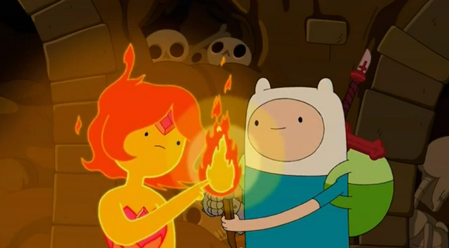 File:S5 e12 Flame Princess lighting the torch.PNG