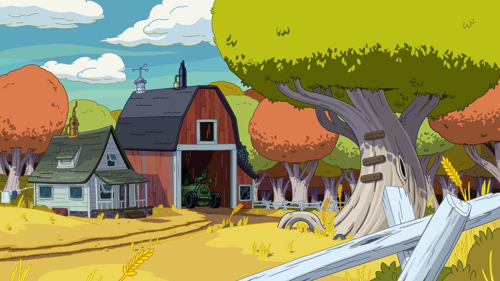 Ice King And Princess Bubblegum Farmworld | Adventure ...