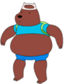 Bear Dressed Up Like Finn.png