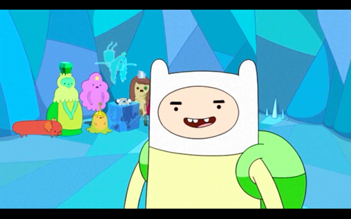 File:S1e3 finn smiling with princesses.png