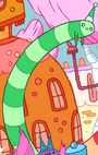 Green wormcandy
