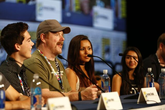 File:Adventure Time Panel at SDCC14 12.JPG