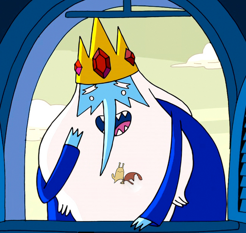 File:Ice King With Snail In HIs Beard.png